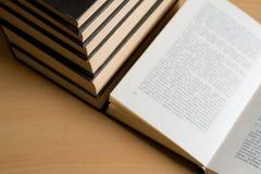 Accumulazione di libro Fotografie Stock Libere da Diritti