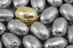 Accumulazione di pasqua d'argento per esempio Fotografia Stock