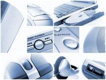 Accumulazione di tecnologia Fotografia Stock