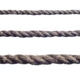 Accumulazione di varie corde Fotografia Stock