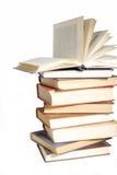 Accumulazione di vecchi libri Immagini Stock Libere da Diritti