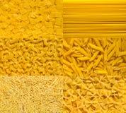 Accumulazione italiana della pasta Immagine Stock