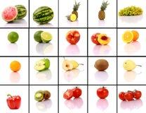Accumulazione Mixed della frutta Immagini Stock