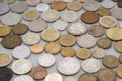 Accumulazione numismatica Fotografia Stock Libera da Diritti