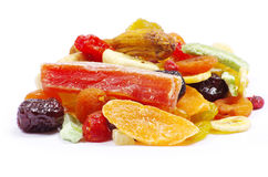 Accumulazione secca della frutta Fotografia Stock Libera da Diritti