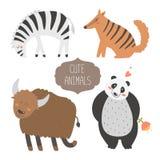Accumulazione sveglia degli animali Immagini Stock Libere da Diritti
