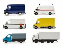 Accumulazione tedesca delle miniature del camion Immagini Stock