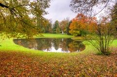 Accumulez en automne mûr de chute d'or en parc de Catherine, Pushkin, St Petersbourg, Russie Image stock