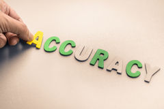 Accuracy Royalty Free Stock Photography