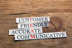 Accurate  communicative  team Royalty Free Stock Images