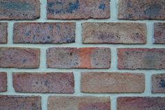 Accurate new brick wall Stock Photos