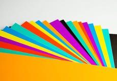 Color cardboard Stock Image