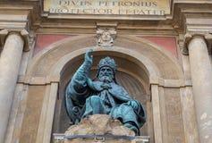 ` Accursio Bologna Emilia Romagna Italy St. Petronius Palazzo d Stockbilder