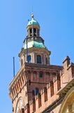 Accursio Kontrollturm. Bologna. Emilia-Romagna. Italien. Lizenzfreie Stockfotografie