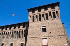 Accursio Palace. Bologna. Emilia-Romagna. Italien. Stockfotos