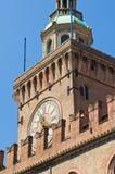 Accursio Palace. Bologna. Emilia-Romagna. Italien. Stockfoto