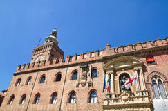 Accursio Palace. Bologna. Emilia-Romagna. Italy. Royalty Free Stock Images