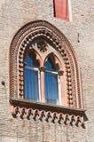 Accursio Palace. Bologna. Emilia-Romagna. Italy. Stock Photo