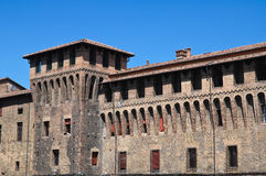 Accursio Palast. Bologna. Emilia-Romagna. Italien. Lizenzfreies Stockfoto
