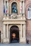 ` Accursio Palazzo Comunale Palazzo d im Bologna Lizenzfreie Stockbilder