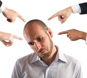 Accused businessman Stock Photo