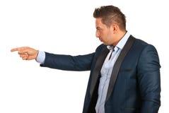 Accuser executive man Stock Image