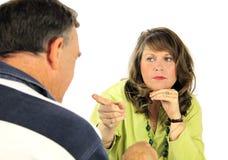 Accusing Couple Stock Image