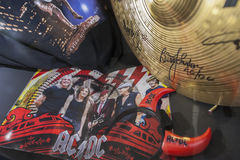 ACDC souvenirs at Stade de France Stock Photography
