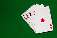 Ace-achtergrond Stock Afbeeldingen