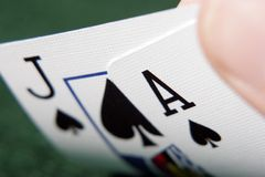 Free Ace And Jack Of Spades Stock Photo - 1743370