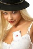 Ace av hjärtor Royaltyfri Fotografi