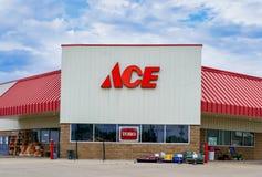 Ace-Baumarkt-Äußeres Lizenzfreies Stockfoto