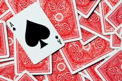 Ace card Stock Photo