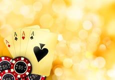 Ace card Royalty Free Stock Photos