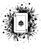 Ace carda Fotografía de archivo