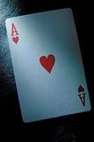 Ace carda Imagenes de archivo