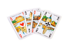 Ace cards Stock Photography