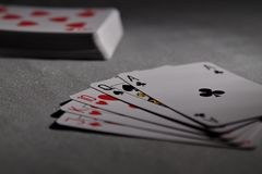 Ace, Cards, Casino Royalty Free Stock Photos