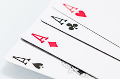 Ace Cards Royalty Free Stock Images