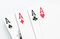 Ace Cards Stock Photo