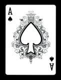 Ace del naipe de las espadas, Fotos de archivo libres de regalías
