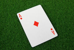 Ace of diamonds Stock Photos