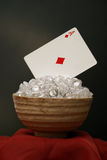 Ace of Diamonds Stock Images