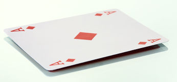 The ace of diamonds Stock Photo