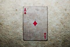 Ace of Diamonds Royalty Free Stock Photos