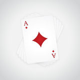 Ace of Diamonds Royalty Free Stock Image