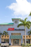 Ace Hardware Retail Store and Logo. Royalty Free Stock Photo