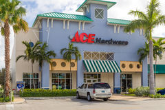 Ace Hardware Retail Store and Logo. Stock Photos