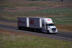 Ace Hardware Semi-Truck Royalty Free Stock Photos