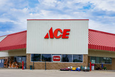 Ace Hardware Store Exterior Royalty Free Stock Photo